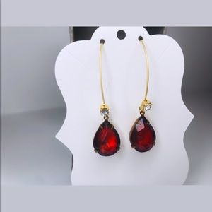 ♡ 2 for 20$ ♡ Ruby Statement Earrings